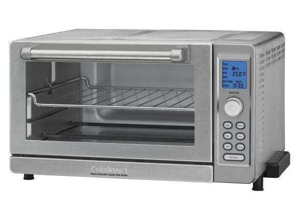 Cuisinart Deluxe Convection Tob 135n Toaster Oven Consumer Reports With Images Convection Toaster Oven Toaster Oven