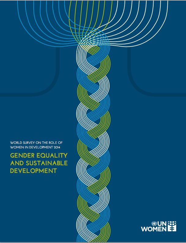 UN Women: Gender equality and sustainable development. Read full report here: http://bit.ly/1ns0Hks