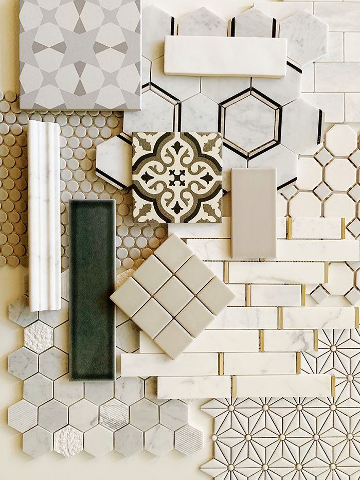 Latest Tile Trends Spotted At Lowes Juniper Home Tile Trends Bathroom Interior Design Interior Design Boards