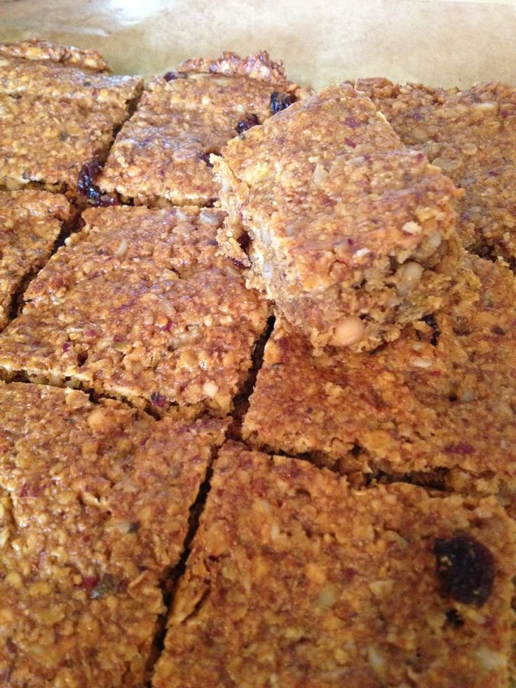 Slimming World oat & seed bars - 8 syns