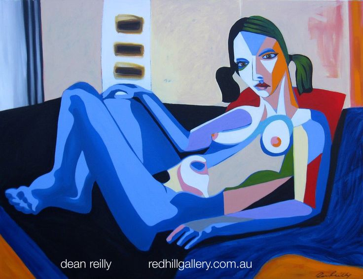"""Dean Reilly painting """"The Artist Muse"""" Red Hill Gallery Brisbane. www.redhillgallery.com.au"""