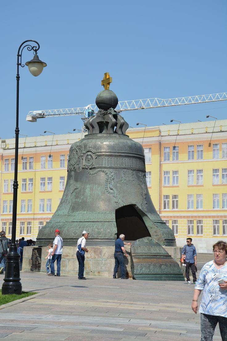 The bell Kolokol in Kremlin, Moscow.