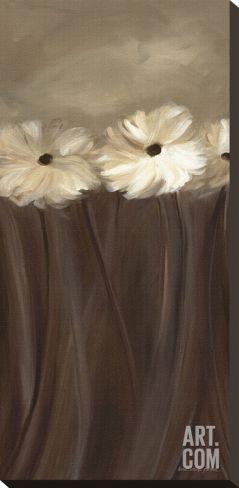Daisy Bouquet Stretched Canvas Print by Karen Lorena Parker at Art.com