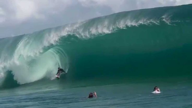 Nathan Florence's Impossible Paddle-in Wave at Teahupoo