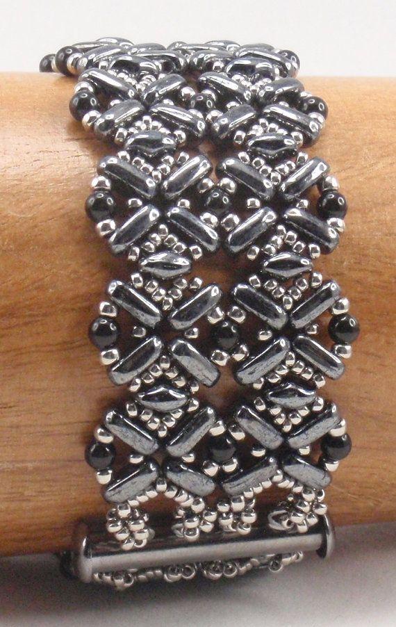 Beading Tutorial for Flatiron Bracelet
