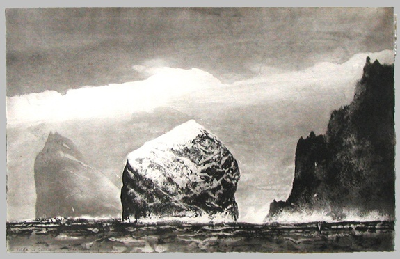 St Kilda in Sunlight - Norman Ackroyd