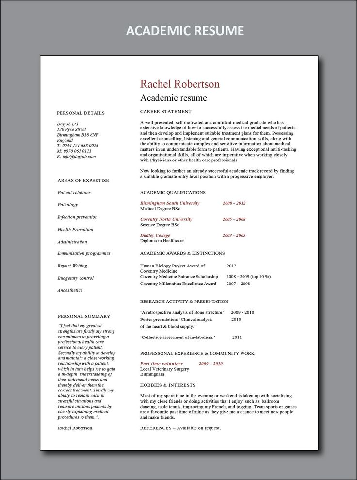 Resume Examples by Industry and Job Title Resume skills
