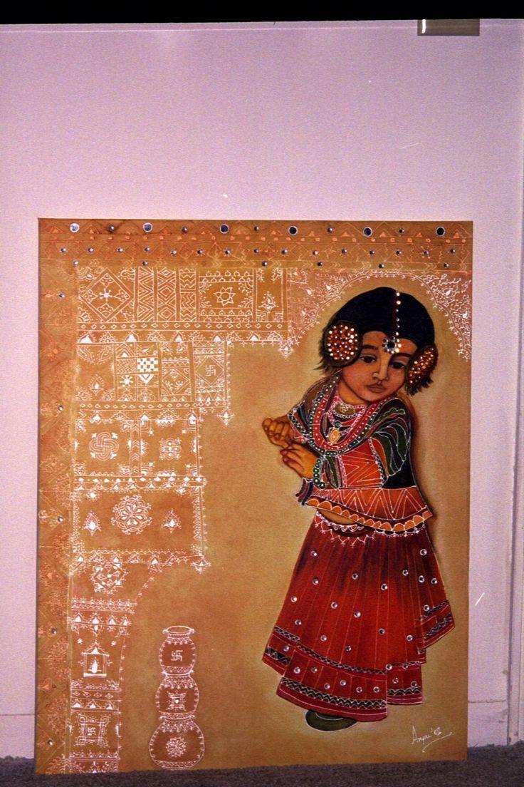 kutch mud art | Colours Dekor: Decorative Artwork