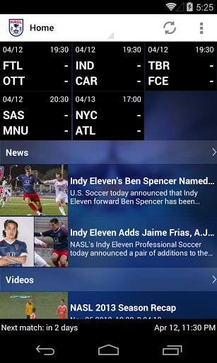 The Official app of the North American Soccer League gives you real time access to the all the latest information, videos and news from the NASL. Plus you can watch all NASL matches live and on-demand on the go by subscribing to the NASL Live streaming service on your phone<br> <br>This app is a great way to keep on top of all the latest goings on at the NASL wherever you are. It's free to download providing soccer fans everywhere a fully interactive viewing experience. To watch live matches…