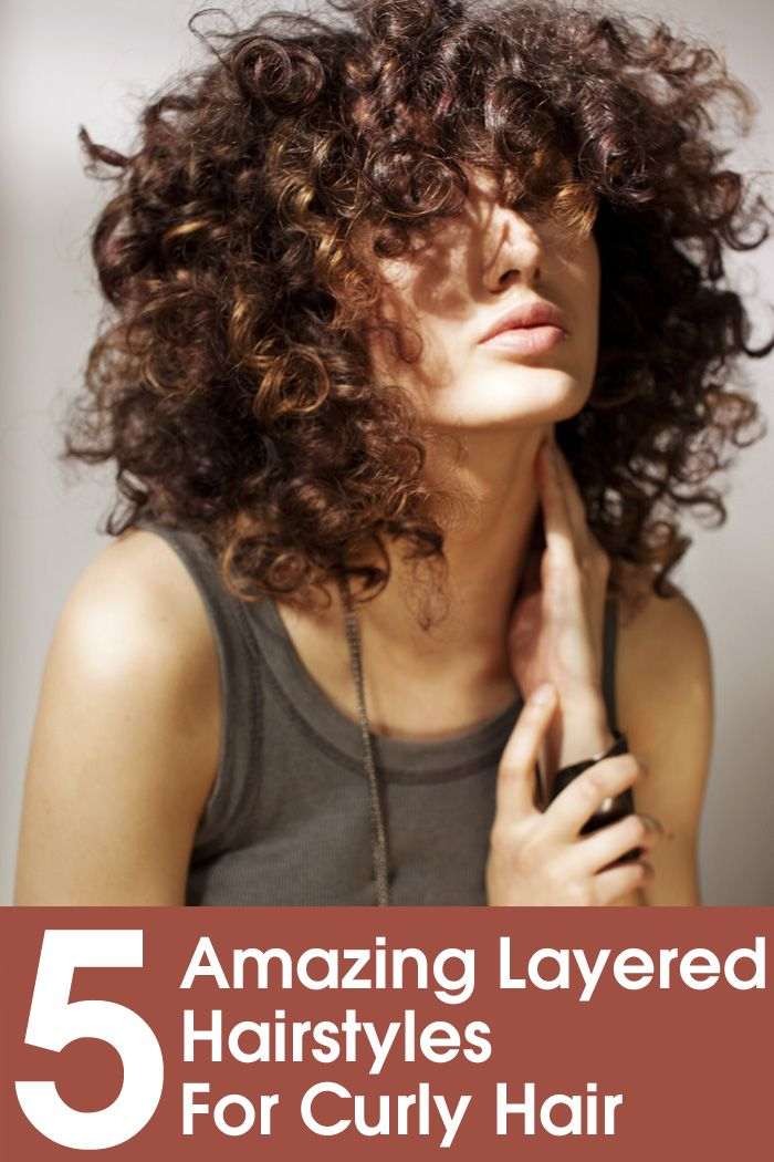 5 Amazing Layered Hairstyles For Curly Hair #hair #hairstyles #curlyhairstyles