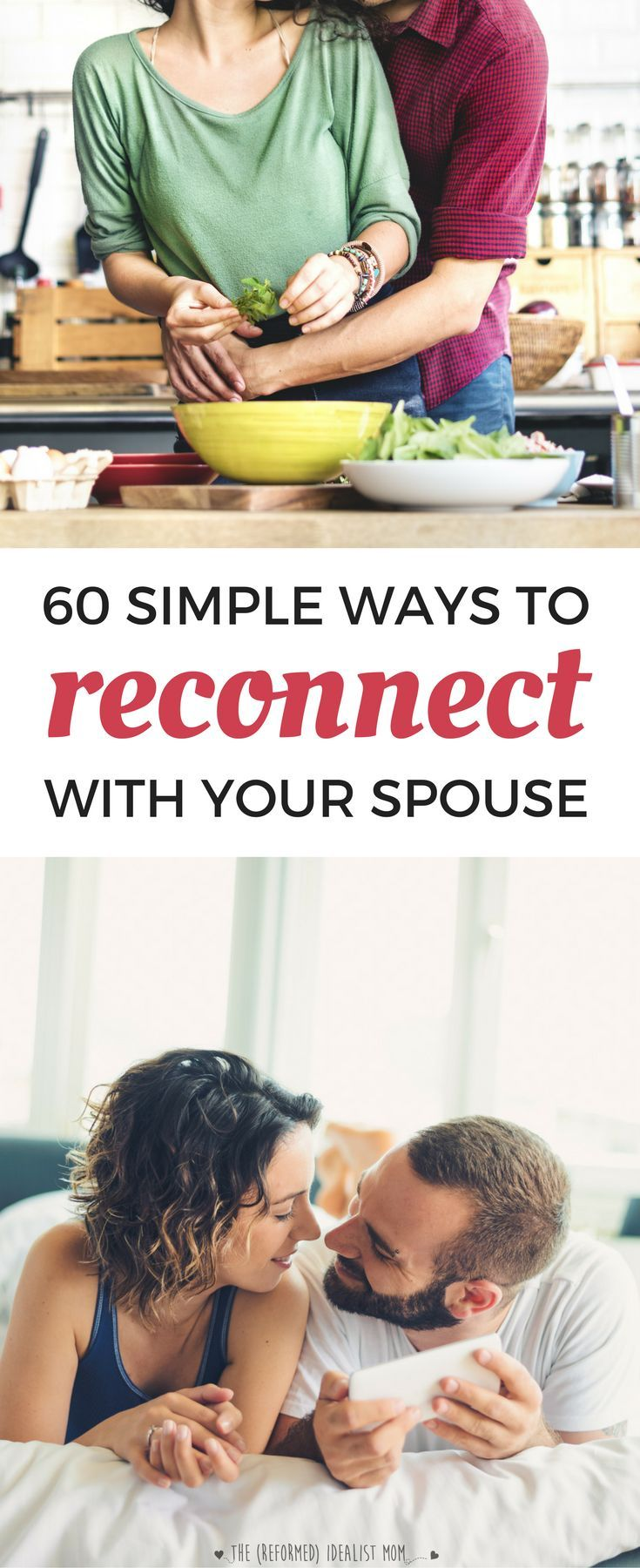 In the chaos of parenting life, it's easy to feel disconnected from your spouse. But if you follow the Magic 5:1 Ratio, you'll make your marriage last plus feel closer than ever to your partner. Download this FREE cheat sheet of simple ways you can reconn