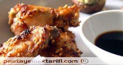 Çin Usulü Tavuk Kanadı  resimli yemek tarifi, Et Yemekleri tarifleri