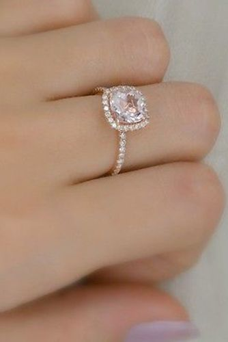 24 Rose Gold Engagement Rings That Will Make You Blush