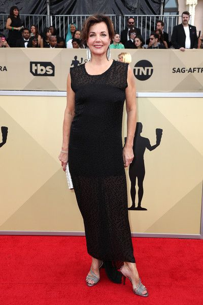 Actor Margaret Colin attends the 24th Annual Screen Actors Guild Awards at The Shrine Auditorium on January 21, 2018 in Los Angeles, California. 27522_017