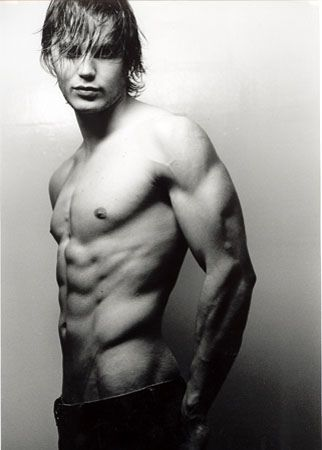 Taylor Kitsch. I don't know who he is, but I would not say no.