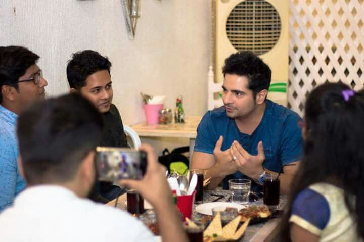 Some lovely moments with the fans clicked at a Fan Meet Up at Grandmama's Cafe, Juhu! Lots of love to everyone for coming!  -Team Karan Mehra