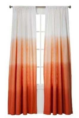 1 Threshold For Target Coral Orange Ombre Stripe Window