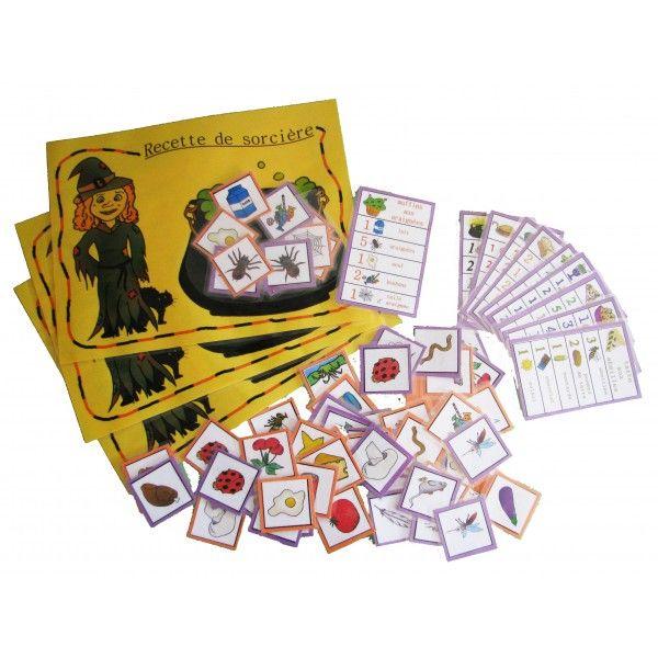 Atelier Halloween : recette de sorcière Idée de jeu à fabriquer ?