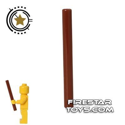 LEGO - Wand - Reddish Brown