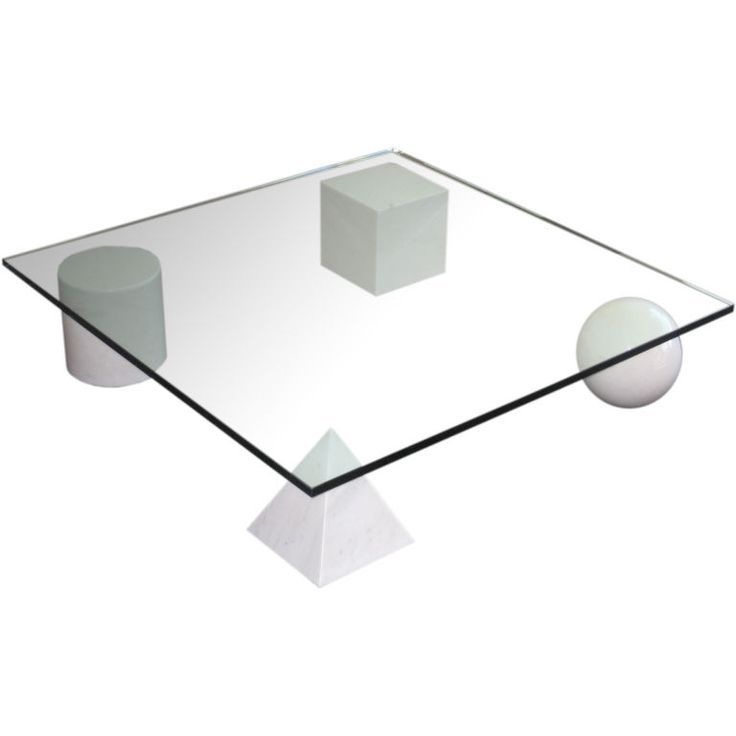 Exceptional Metaphora 1 Coffee Table By Lella U0026 Massimo Vignelli  Italy, 1979 Marble  And Glass