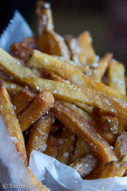 Sola- Truffle Fries: Salty Food, Belly Belly, Food Porn, American Food, The Kitchen, Truffles Fried, Family Friends Food, Chops Express, Families Friends