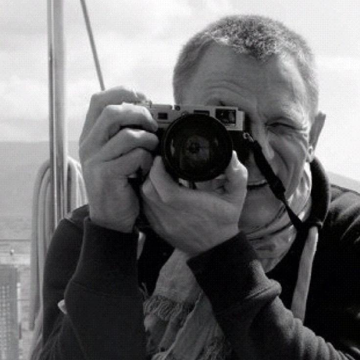 Daniel Craig - camera | People | Pinterest Daniel Craig
