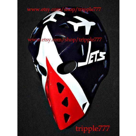 Hockey mask, Hockey goalie, NHL ice hockey, Roller Hockey, Hockey goalie mask, Hockey helmet Winnipeg Gary Smith mask HO83