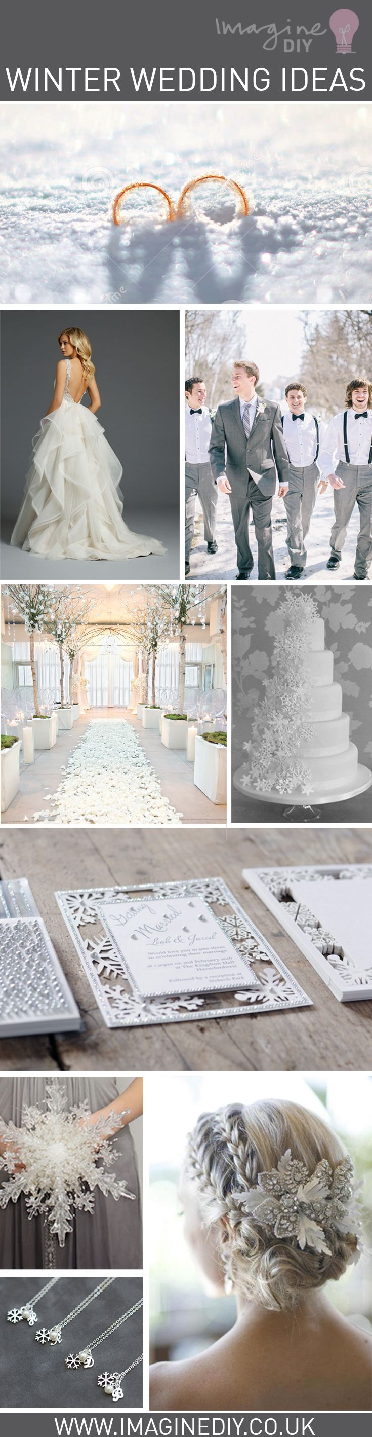 Winter snowflake and silver wedding ideas. DIY wedding stationery and invitations supplying brides to be, craft addicts and wholesalers. Be inspired to get creative with our fantastic range.