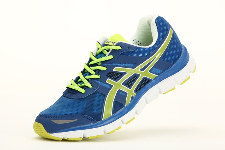 mens shoes /blue Asics Gel shoes