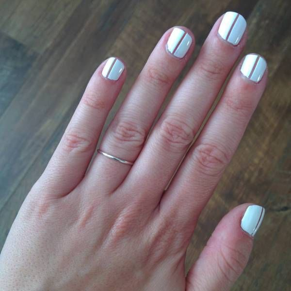 496 best nails images on pinterest nail polishes nail polish 50 negative space nail ideas to copy right now sciox Images