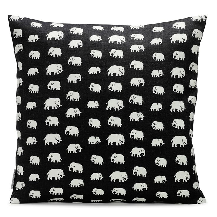 Cushion by Svenskt Tenn. Estrid Ericson created the Elephant pattern in the 1930s.