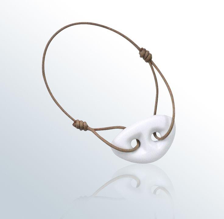 Bijoux porcelaine : bague, collier, boucles d'oreille, bracelet, pendentif en porcelaine de Limoges