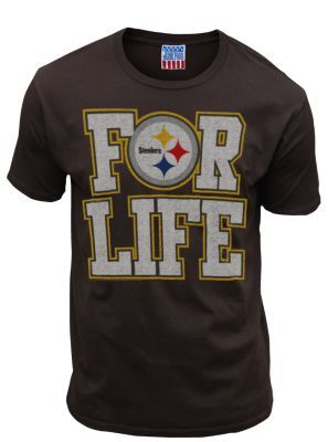 NFL Steelers For Life Tee @ http://www.junkfoodclothing.com