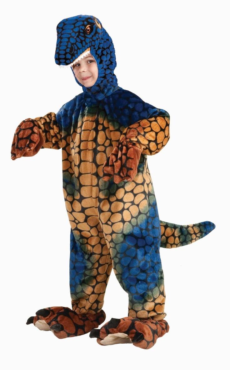 deluxe velociraptor blue and tan dinosaur costume   super