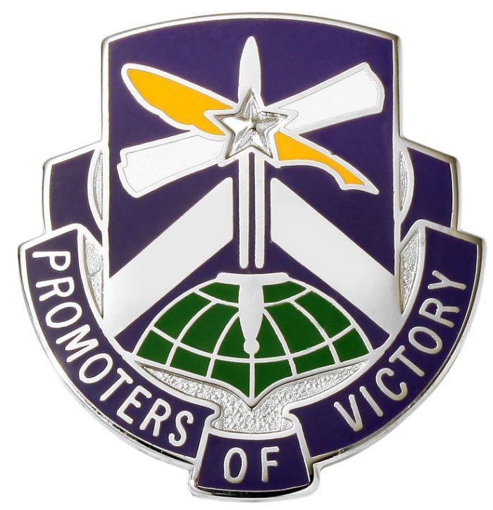 451st Civil Affairs Battalion Unit Crest (Promoters of Victory)