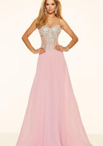 Cheap and Australia 2016 Candy Pink A-line Sweetheart Neckline Beaded Sequins Chiffon Floor Length Evening Dress/ Prom Dresses 98092 from Dresses4Australia.com.au