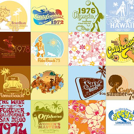 Vintage T Shirt Graphics By Bluelounge