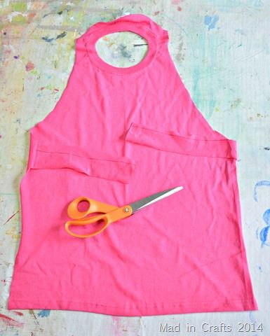 preschool smocks | When you are finished cutting the smock should look like this. The ...