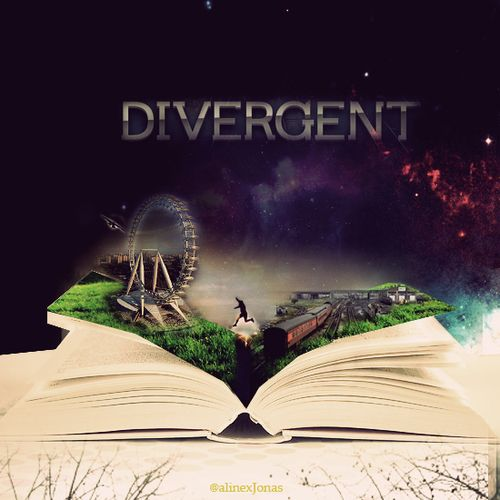 Divergent book fan made art. This is absolutely beautiful! It incorporates the different aspects of the book.#truedivergentfan