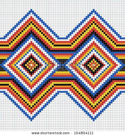 Colombian Design Patterns Border