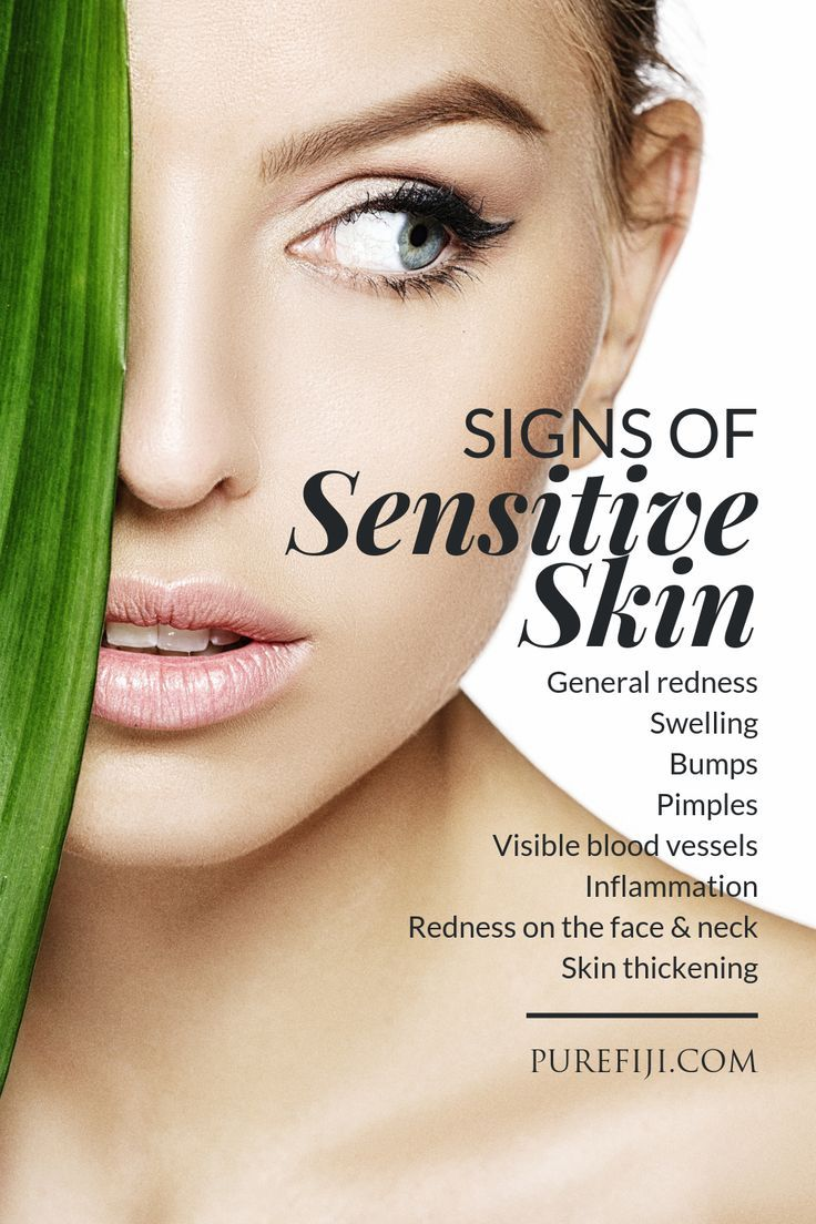 The Best Natural Skin Care Routine For Sensitivity And Redness Sensitive Skin Sensitive Skin Care Natural Skin Care Routine