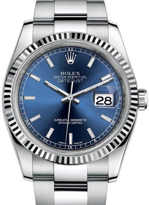Rolex 116234 blso Datejust Steel. #rolex