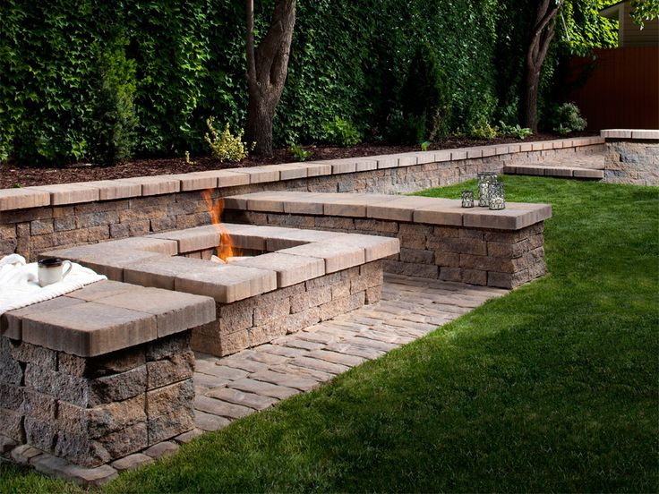 Bonfire Pits & Outdoor Fireplaces | J & S Landscaping
