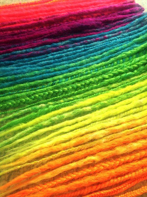 Dreads synthétiques - Rainbow Dread Extenssion Kit