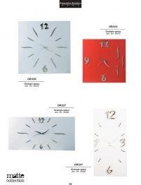 Orologi laccati di Design
