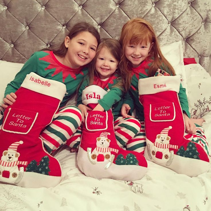 The Ingham Family (@inghamfamily) Instagram photo 2016-12-25 02:45:04 ITS CHRISTMAS!!! #family #Christmas #christmasmorning #stockings #exciting