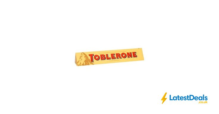 Toblerone Milk Chocolate Bar 360g, £1 at Waitrose