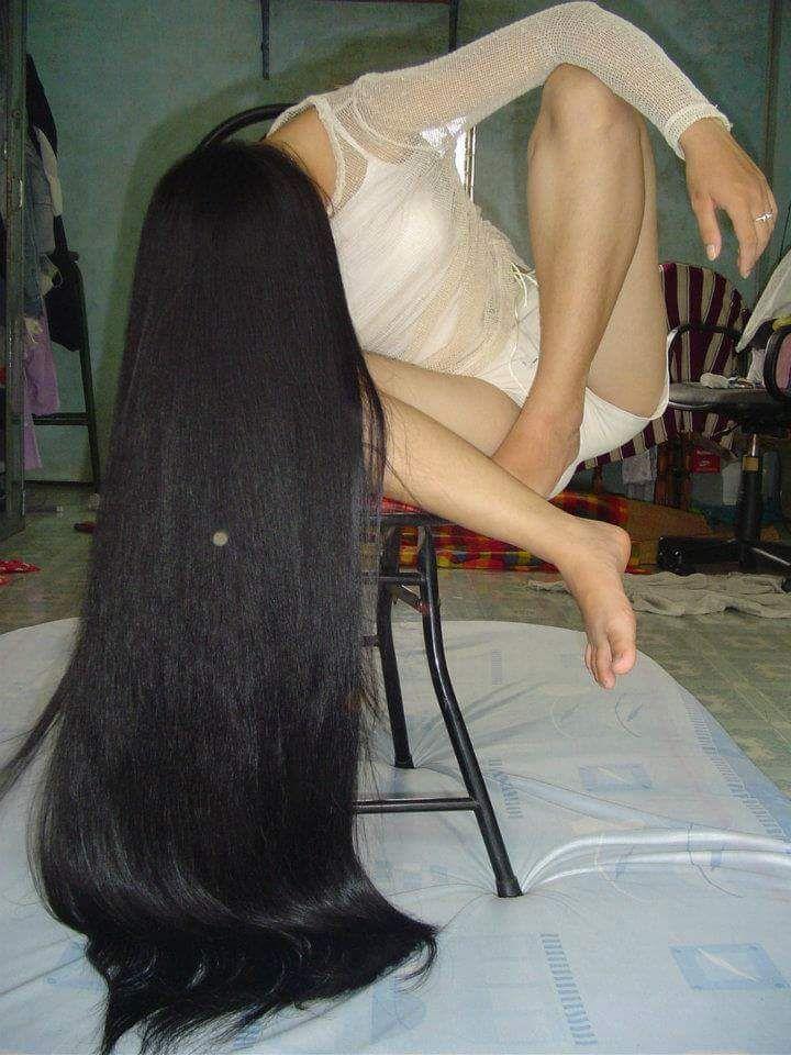 Hairjob long hair hair amateur live on spicygirlcamcom 1