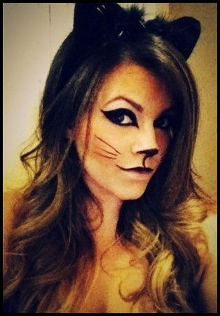 http://maquillajenocheydia.com/maquillaje-de-gata/ Como maquillarse de gata para fiestas, Carnaval o Halloween. Imágenes, vídeo tutorial paso a paso, maquillaje de gata facil, original y chic. Look noche y dia ¡¡Aprende con nosotros!! Consigue el mejor disfraz de gatita y triunfa en tu fiesta de disfraces