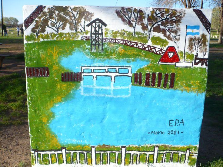 recreación de el parque LOS PISADEROS!